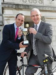 Conall McDevitt Cycling Race