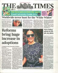 Times front cover
