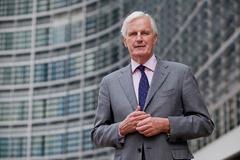 Michel Barnier at the EC