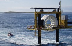 OpenHydro Turbine Research Structure 01