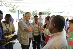 jim nicholson haiti visit