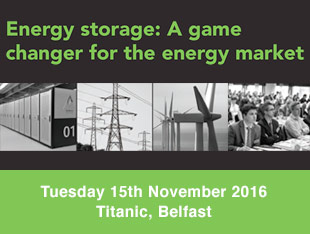 Energy Storage Conference, Belfast, 2016