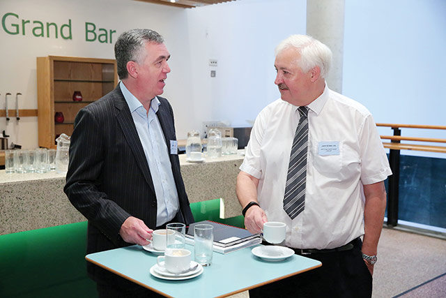 Martin Kelly, Strategic Planning and John McMullan, Bryson Charitable Group.