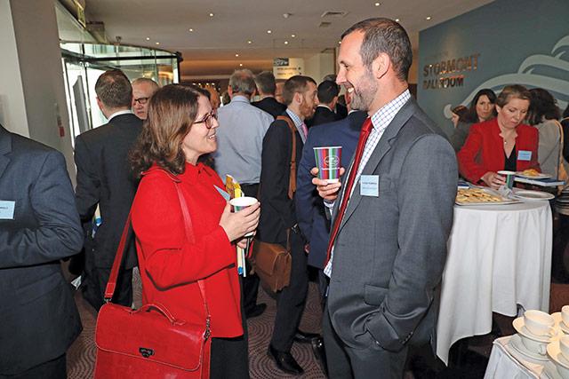Sarah Brady, Utility Regulator and Patrick Thompson, Energy Saving Trust.