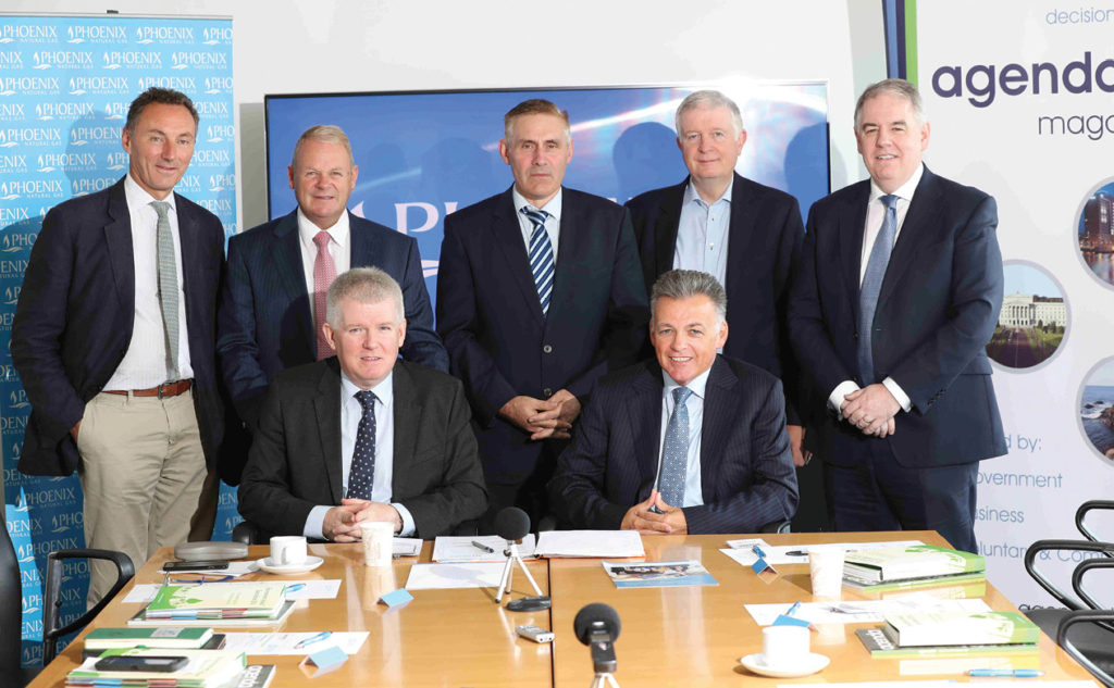 Phoenix Natural Gas hosted a round table discussion on how investing in infrastructure, including energy networks, can play a critical role in supporting the economy and should have more of a priority in the Executive's Programme for Government.