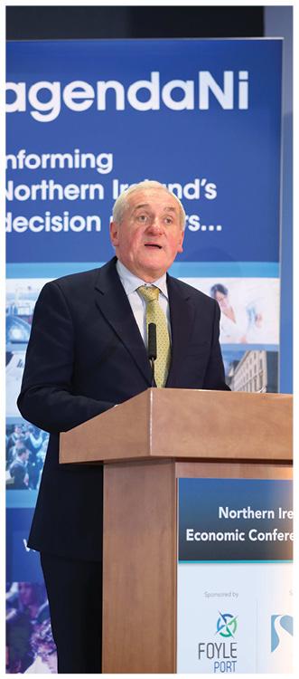 Bertie Ahern, Former Taoiseach.