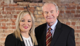 Martin McGuinness and Michelle O'Neill. Credit: Sinn Féin.