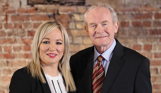 Martin McGuinness and Michelle O'Neill. Credit: Sinn Féin.