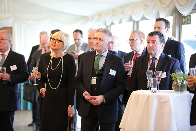 Local businesses and delegates at the Lisburn Castlereagh at Westminster event.