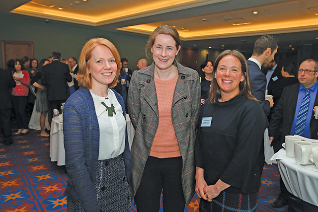 Joy Hargie and Leah McCleave, Department for Infrastructure and Maire Clarke, Mid & East Antrim Borough Council.