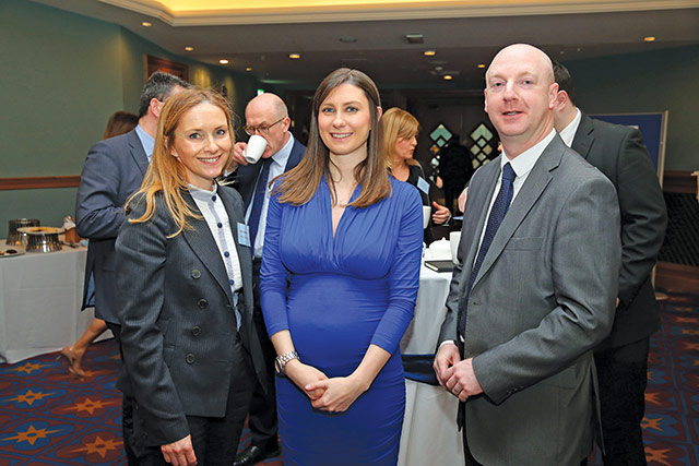 Noelle McKay, Tughans and Oonagh Potter and Chris Martin, Danske Bank.
