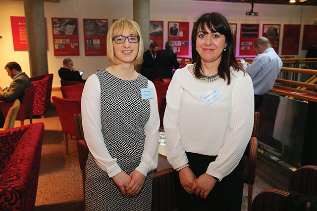 Ruth Watson, Food Standards Agency Northern Ireland and Davina McCartney, Mid Ulster District Council.