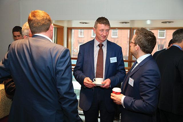 Robert McCullough, Danske Bank and Luke Redmond, Department of the Taoiseach.