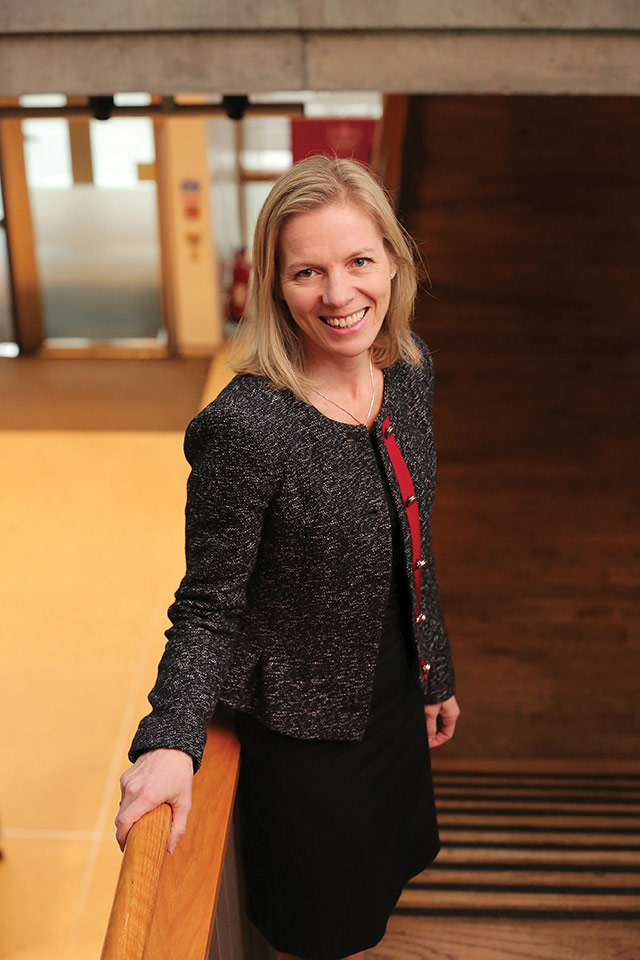 Marte Gerhardsen, National Director of Norwegian think tank Agenda.