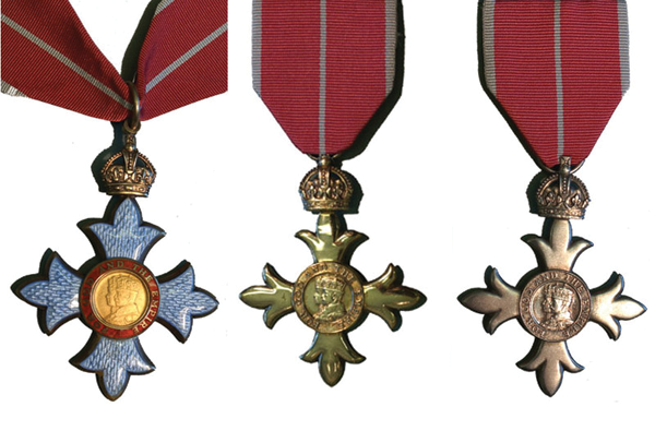 New year honours list
