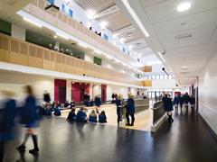 Ashfield Girls High School, east Belfast.
