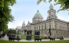 ©Press Eye Ltd Northern Ireland 12th June 2013 - Mandatory Credit - Picture by Matt Mackey/Presseye.comBelfast City Hall.