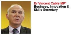 Dr Vincent Cable