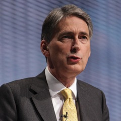 The Tories released their proposals in Philip Hammond's name.