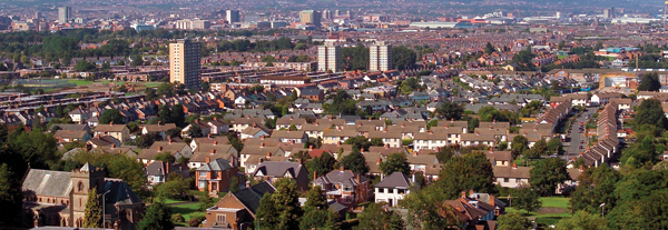 View of Belfast. Sept 2004