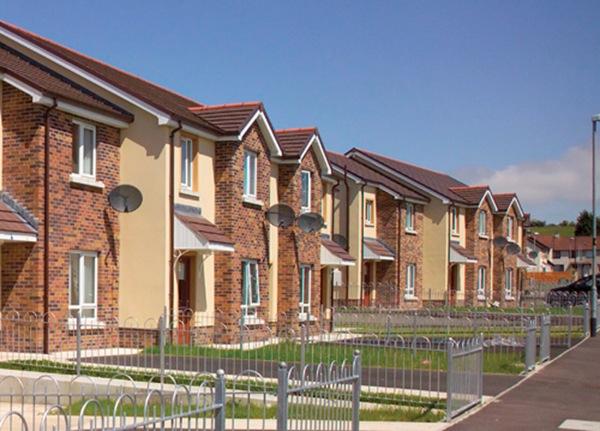 Housing Assoc Newbuild at Oakland Park, Creggan, L' Derry. May 2009