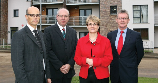 Living sustainably, Christopher Carvill, Dr Patrick Clarke, Margaret Ritchie MLA, Jim Kitchen