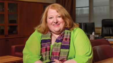 Photo of Justice Minister Naomi Long
