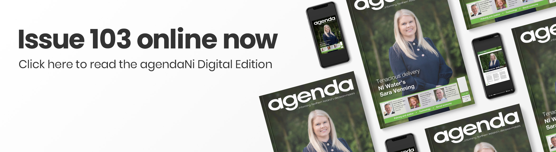 Issue 103 online now • Read the agendaNi Digital Edition